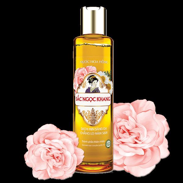 Nước hoa hồng Sắc Ngọc Khang